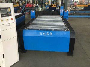 тежка cnc тръба тръба метална плазмена машина за рязане на неръждаема стомана / въглеродна стомана / желязо