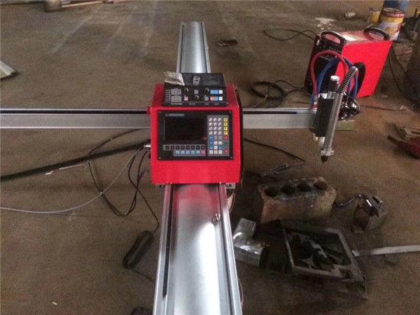 Висококачествена портативна cnc машина за плазмено рязане cnc плазмен нож за неръждаема стомана и метален лист