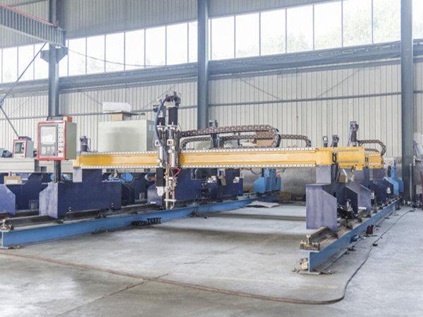 Интелигентни машини за рязане на метални пластини с CNC автоматична машина за рязане на плазма и пламък