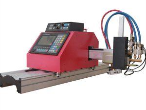 мултифункционална квадратна стоманена тръба с профил cnc пламък / плазмена машина за рязане високо качество