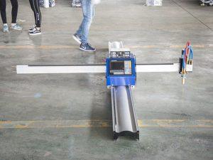 Нова технология преносим тип cnc машина за плазмено рязане цена малък бизнес производствени машини