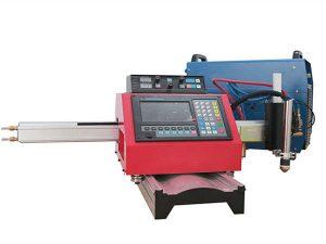 Преносима CNC плазмена машина за рязане и автоматична машина за рязане на газ със стоманена следа