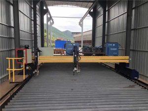 прецизно cnc плазмено рязане машина точен 13000mm серво мотор