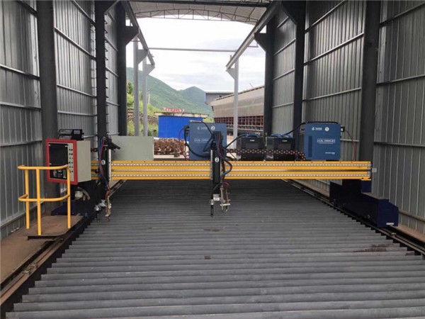 Прецизна CNC плазмена машина за рязане с точност 13000 мм със серво мотор