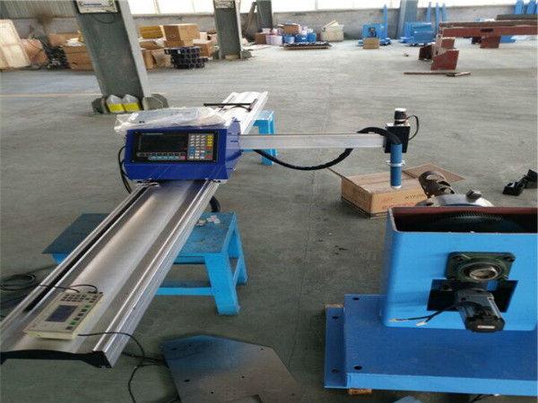 Диаметърът на тръбата е от 30 до 300 преносими машина за рязане на тръби с ЦПУ