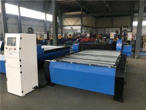 Гаранция на търговията Евтина цена Портативна машина за рязане на плазмени CNC за неръждаема стомана Matel ютия