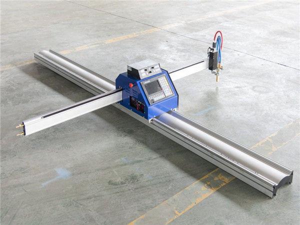 cnc машина за плазмено рязане с маркиращ приставка за гравиране
