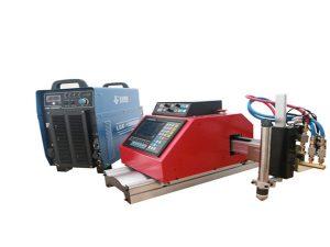 висококачествена преносима малка cnc машина за плазмено рязане за поцинкована стоманена ламарина