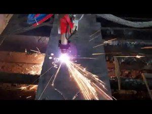 ниска цена cnc плазмено рязане машина желязна пръчка машина за рязане кръг