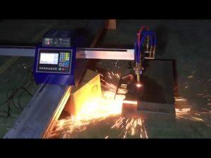 ниска цена мини преносима cnc тръба пламък за плазмено рязане за рязане на метална неръждаема стомана
